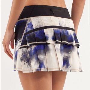 LULULEMON Run Pace Setter Skirt Milky Way